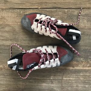 Barely Used Rock Climbing Shoes